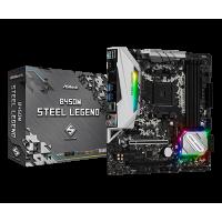 Placa Mãe AsRock B450M Steel Legend mATX DDR4 3533 PCI HDMI USB 3.1 DisplayPort
